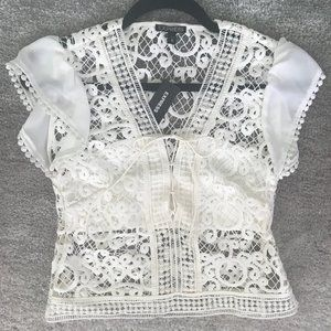 Gorgeous Lace Express Top!!!